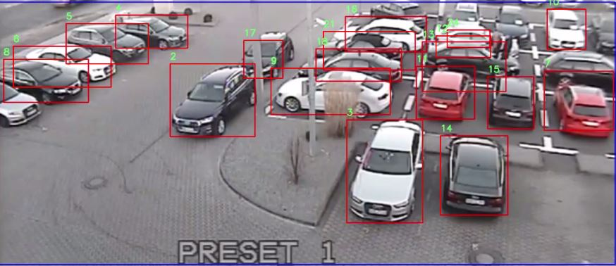 Smart parking retrofit camera solution